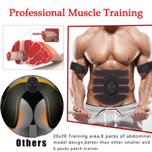 Load image into Gallery viewer, EMS MUSCLE TRAINING STIMULATOR - FITNESS BODY SLIMMING MASSAGER