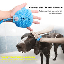 Load image into Gallery viewer, Pet Shower Sprayer & Scrubber in-One, Dog Cat Horse Grooming