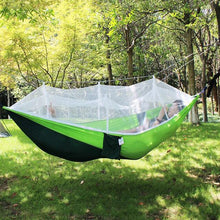 Load image into Gallery viewer, Ultralight Travel Hammock with Integrated Mosquito Net