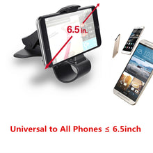 Load image into Gallery viewer, Rotatable Universal Car Phone Clip Holder
