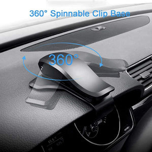 Rotatable Universal Car Phone Clip Holder