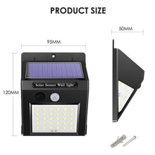 Load image into Gallery viewer, Solar Waterproof Wall Light - LIMITED OFFER
