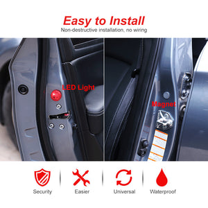 Cool Car Accessory-Universal Wireless Car Opening Door Singal Lights