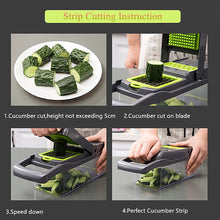 Load image into Gallery viewer, Multifunctional Vegetable Chopper & Slicer