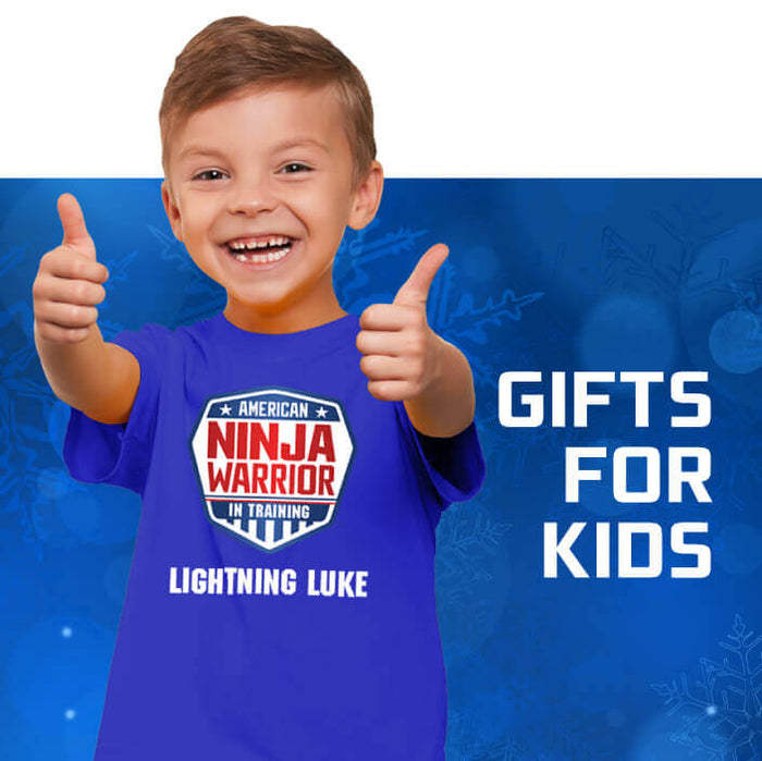 American Ninja Warrior Holiday Gift Guide Gifts For Kids Nbc Store