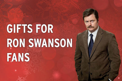 Parks And Recreation Holiday Gift Guide Ron Swanson Gifts
