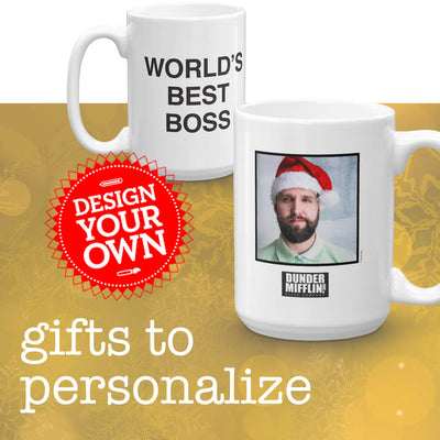 The Office Holiday Gift Guide Personalized Gifts