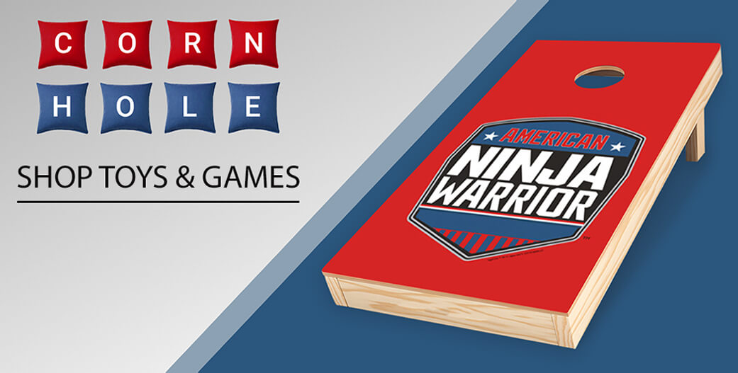 American Ninja Warrior Toys and Games