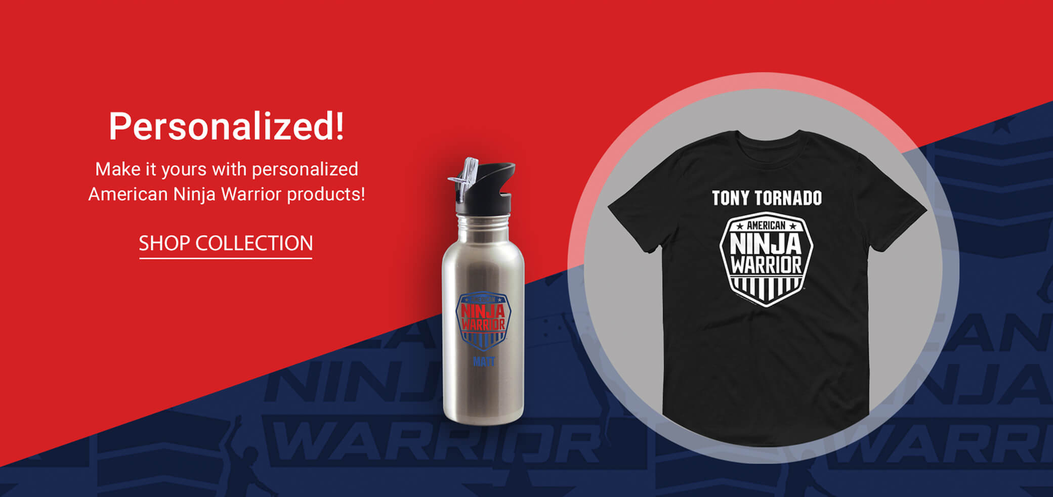 American Ninja Warrior Personalized Gifts