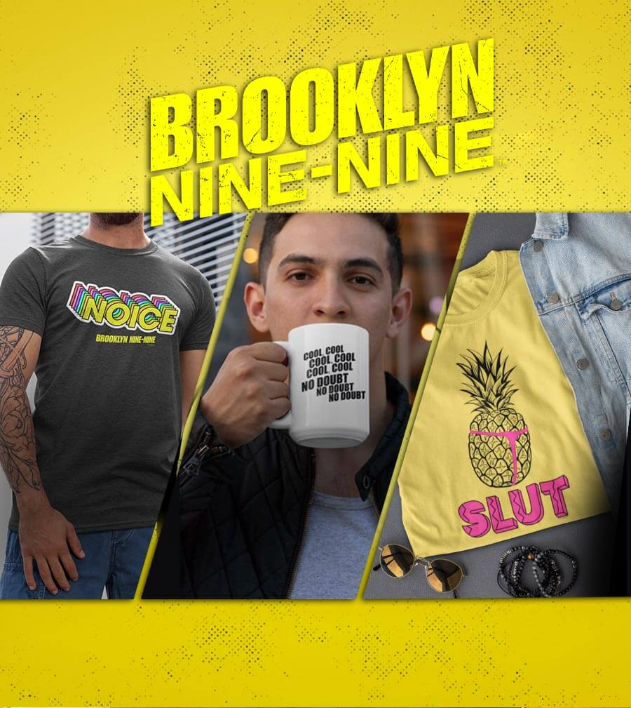 Brooklyn Nine-Nine season 7 t-shirts, mugs, accessories