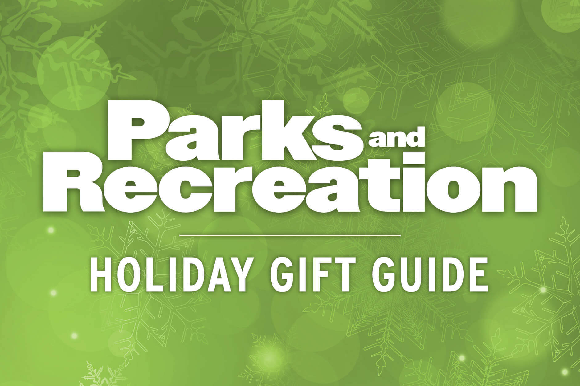 Parks and Recreation Holiday Gift Guide