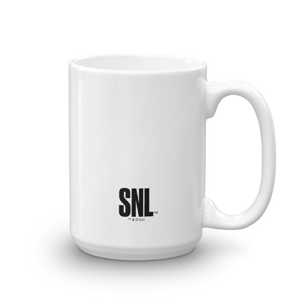 Saturday Night Live Schweddy Ball White Mug