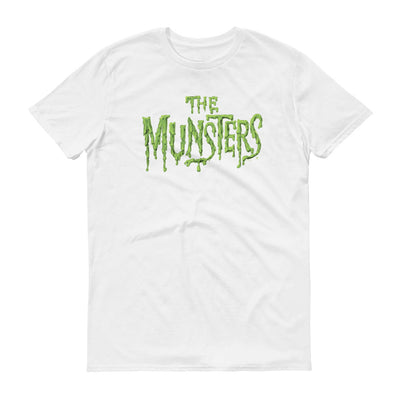 The Munsters Distress Logo Men's Short Sleeve T-Shirt