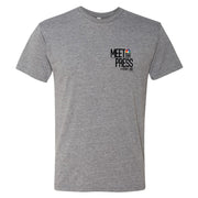 Meet The Press Men's Tri-Blend Short Sleeve T-Shirt