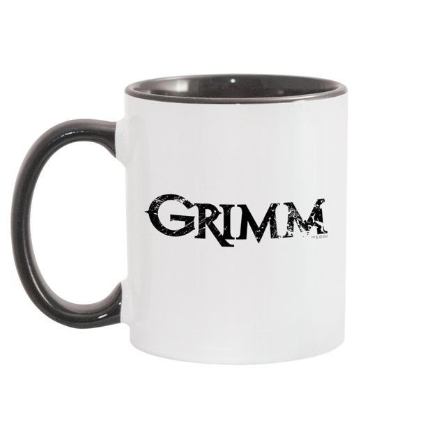 Grimm Know Your Wesen White and Black Mug