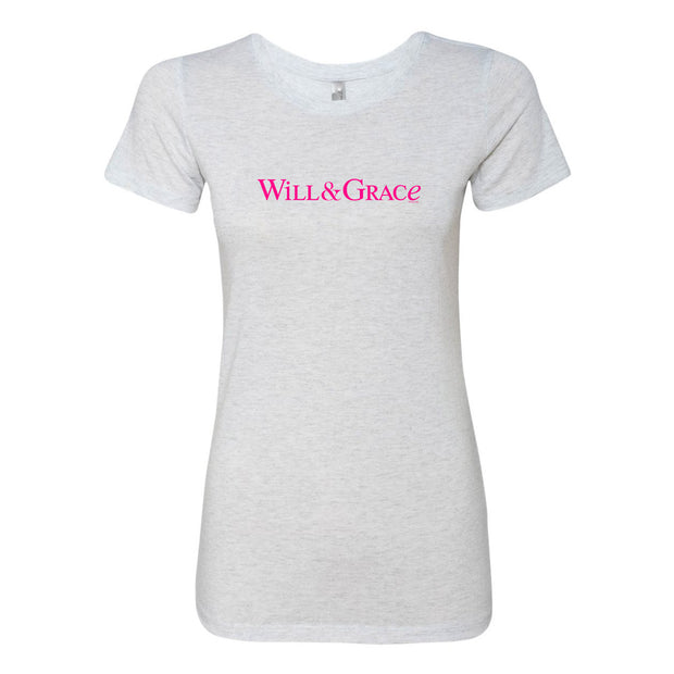 Will & Grace Logo Women's Tri-Blend T-Shirt