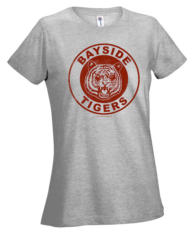 Saved By The Bell Bayside Tigers Women's Short Sleeve Fitted T-Shirt