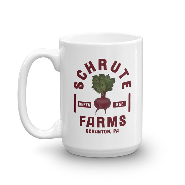 The Office Schrute Farms  White Mug