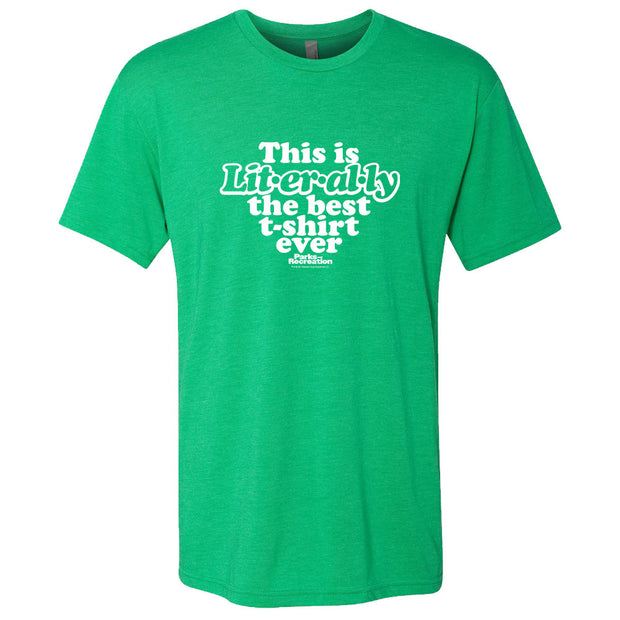 Parks and Recreation Literally St. Paddy's Day Men's T-Shirt