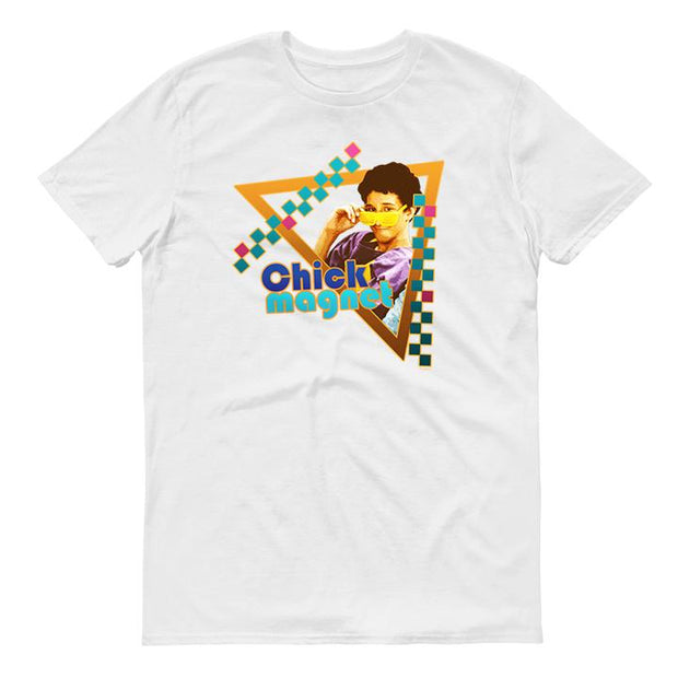 Saved By The Bell Chick Magnet Men's Short Sleeve T-Shirt