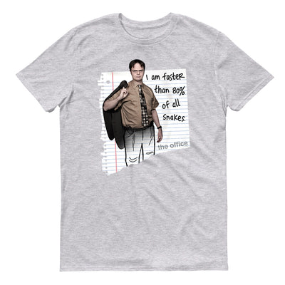 The Office Dwight Snakes Short Sleeve T-Shirt