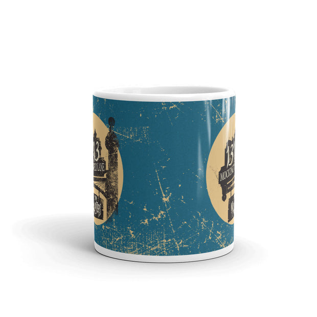 The Munsters Moonlit Address White Mug