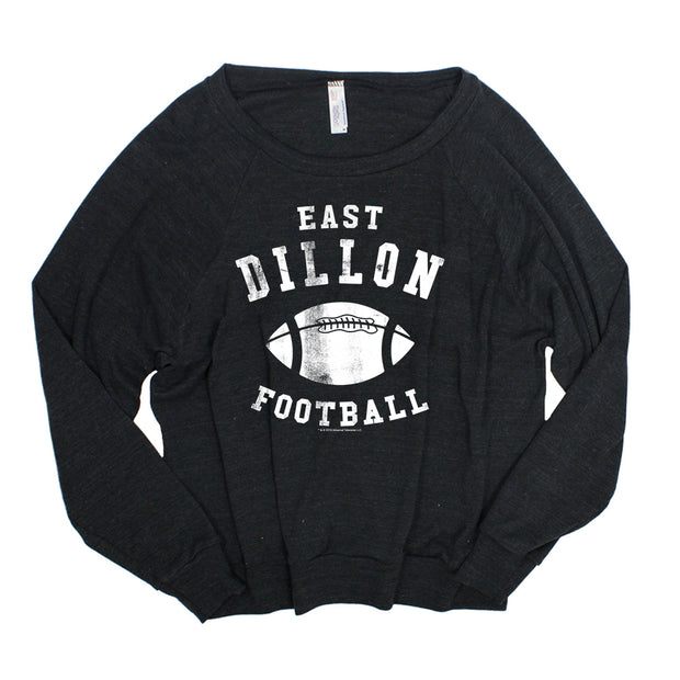 Friday Night Lights East Dillon Football Women's Tri-Blend Pullover Sweatshirt