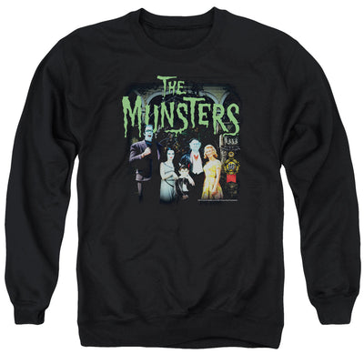 The Munsters 1313 50 Years Crew Neck Sweatshirt