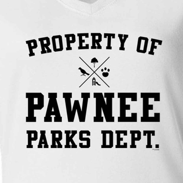 Parks and Recreation Property of Pawnee Women's Short Sleeve T-Shirt