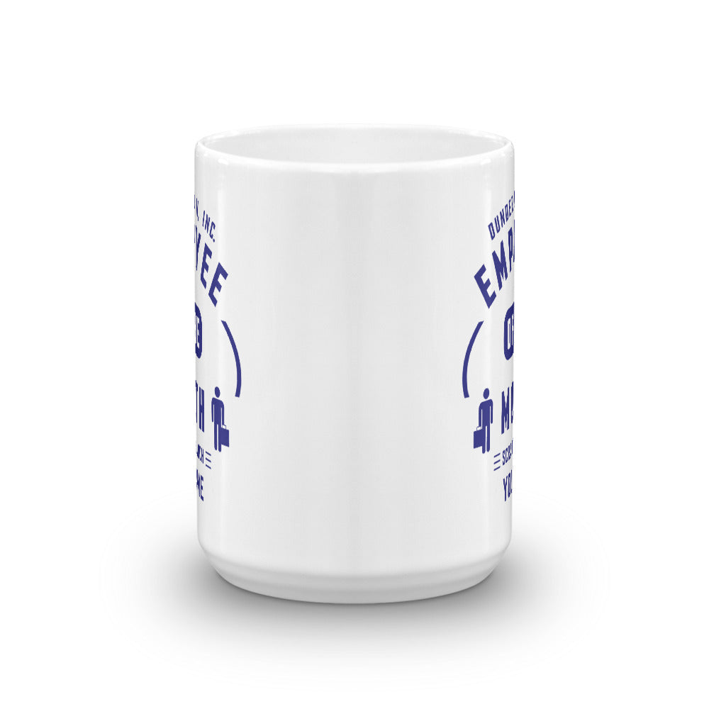 The Office Personalized Employee of the Month 15oz White Mug-secondary-image