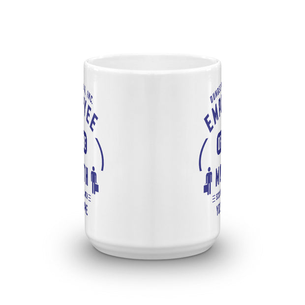 The Office Personalized Employee of the Month 15oz White Mug