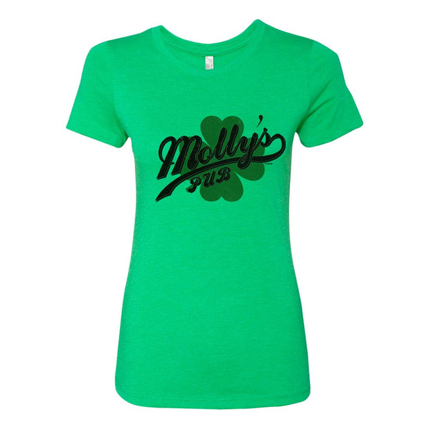 Chicago Fire Molly's Pub St. Patrick's Day Women's Tri-Blend Short Sleeve T-Shirt