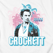 Miami Vice Crockett Short Sleeve T-Shirt