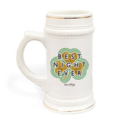 The Office Dunder Mifflin Best Night Ever St. Patrick's Day Beer Stein