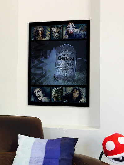 Grimm Rest in Peace Poster - 18x24