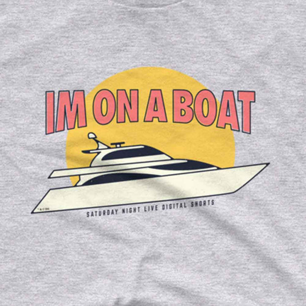 Saturday Night Live I'm on a Boat Men's Short Sleeve T-Shirt