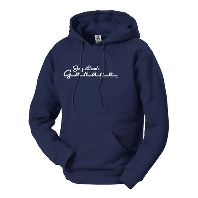 Jay Leno's Garage New Logo Hooded Sweatshirt