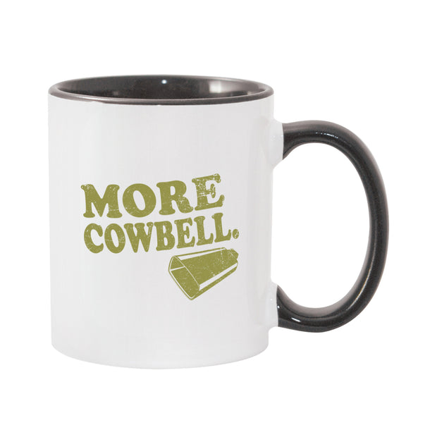 Saturday Night Live More Cowbell White and Black Mug