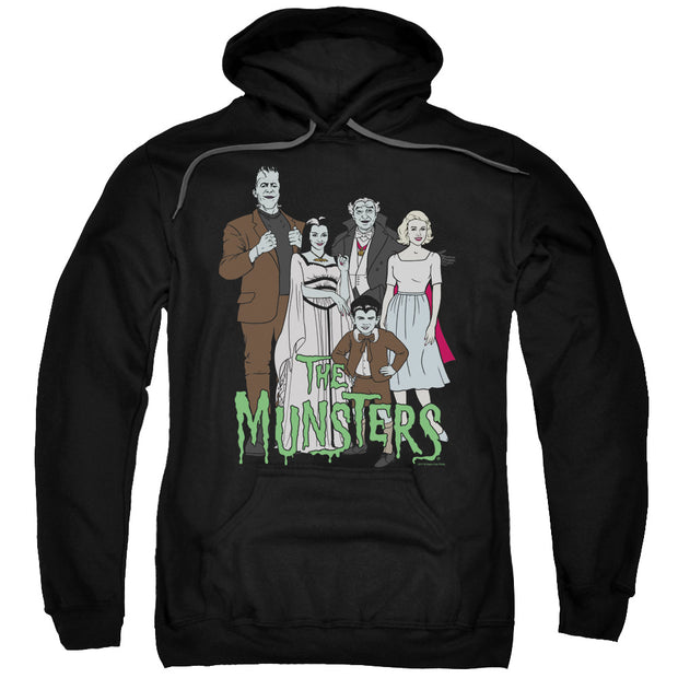 The Munsters The Family Hooded Sweatshirt