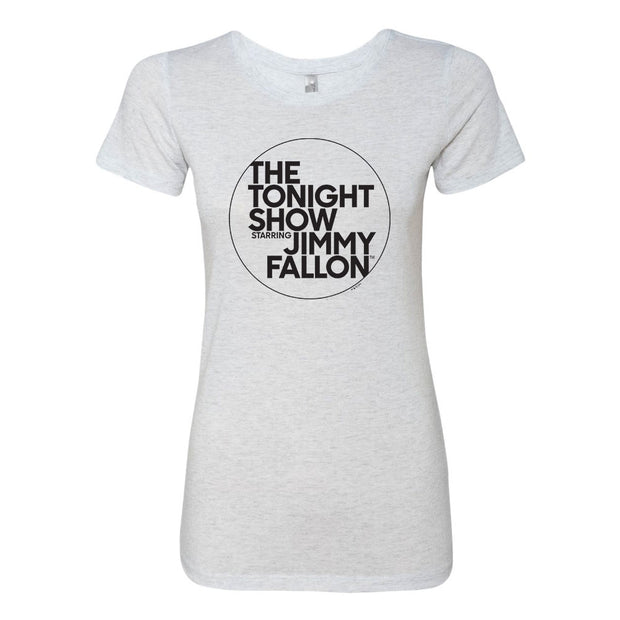 The Tonight Show Starring Jimmy Fallon Women's Tri-Blend Short Sleeve T-Shirt