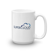Superstore Supercloud Logo White Mug
