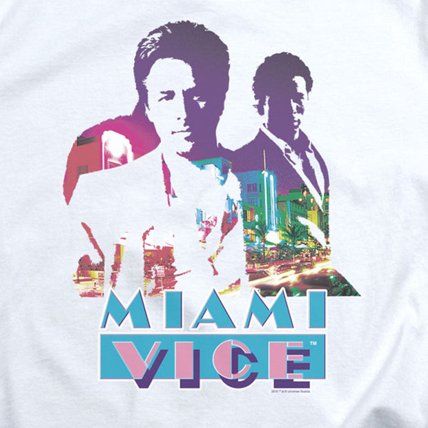 Miami Vice Crockett and Tubbs Women's Short Sleeve T-Shirt