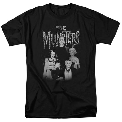 The Munster Family Portrait Men's Short Sleeve T-Shirt