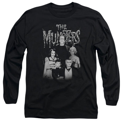 The Munster Family Portrait Long Sleeve T-Shirt