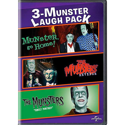 The Munsters - 3 Munsters Laugh Pack DVD