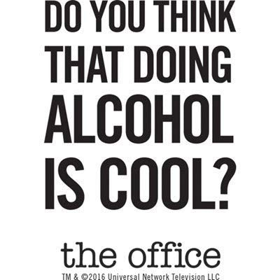 The Office Do You Think That Doing Alcohol Is Cool? Flask-secondary-image