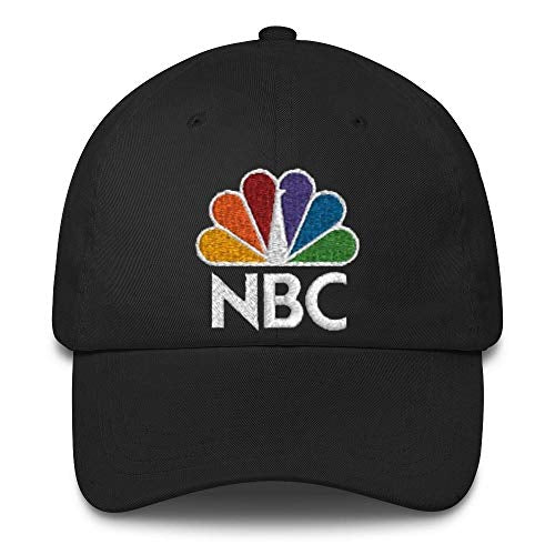 NBC Peacock Embroidered Hat