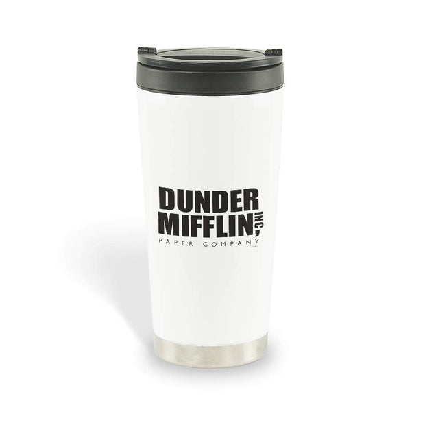 The Office Dunder Mifflin Stainless Steel Travel Mug