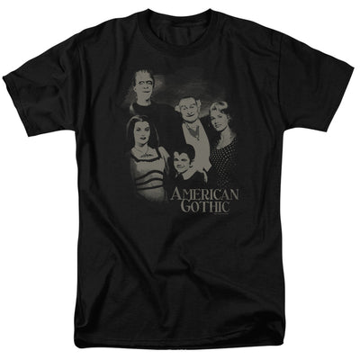The Munsters American Gothic Men's Short Sleeve T-shirt