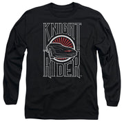 Knight Rider Logo Long Sleeve T-Shirt